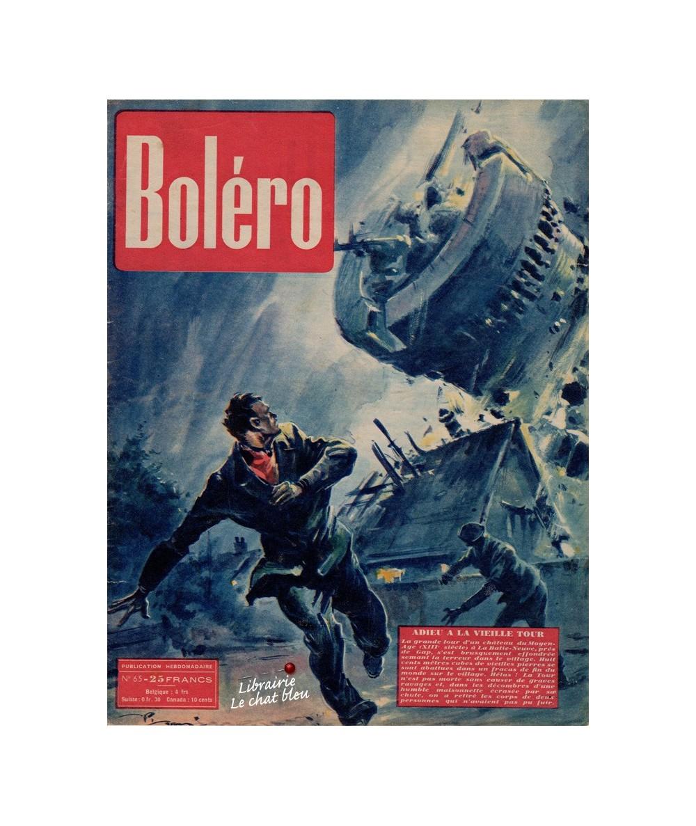 Boléro N° 65 paru en 1951 - Adieu à la vieille Tour