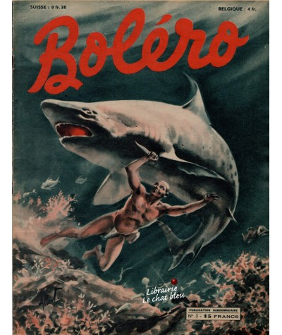 Revue Boléro N° 3 paru en 1950