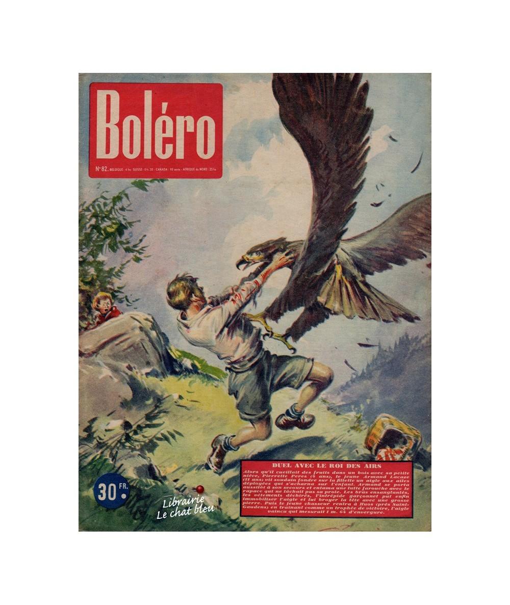 Boléro N° 82 paru en 1951 - Duel avec le Roi des airs