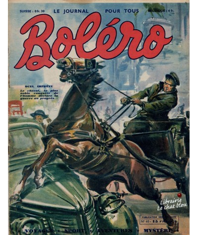 Revue Boléro N° 40 paru en 1951 - Duel imprévu