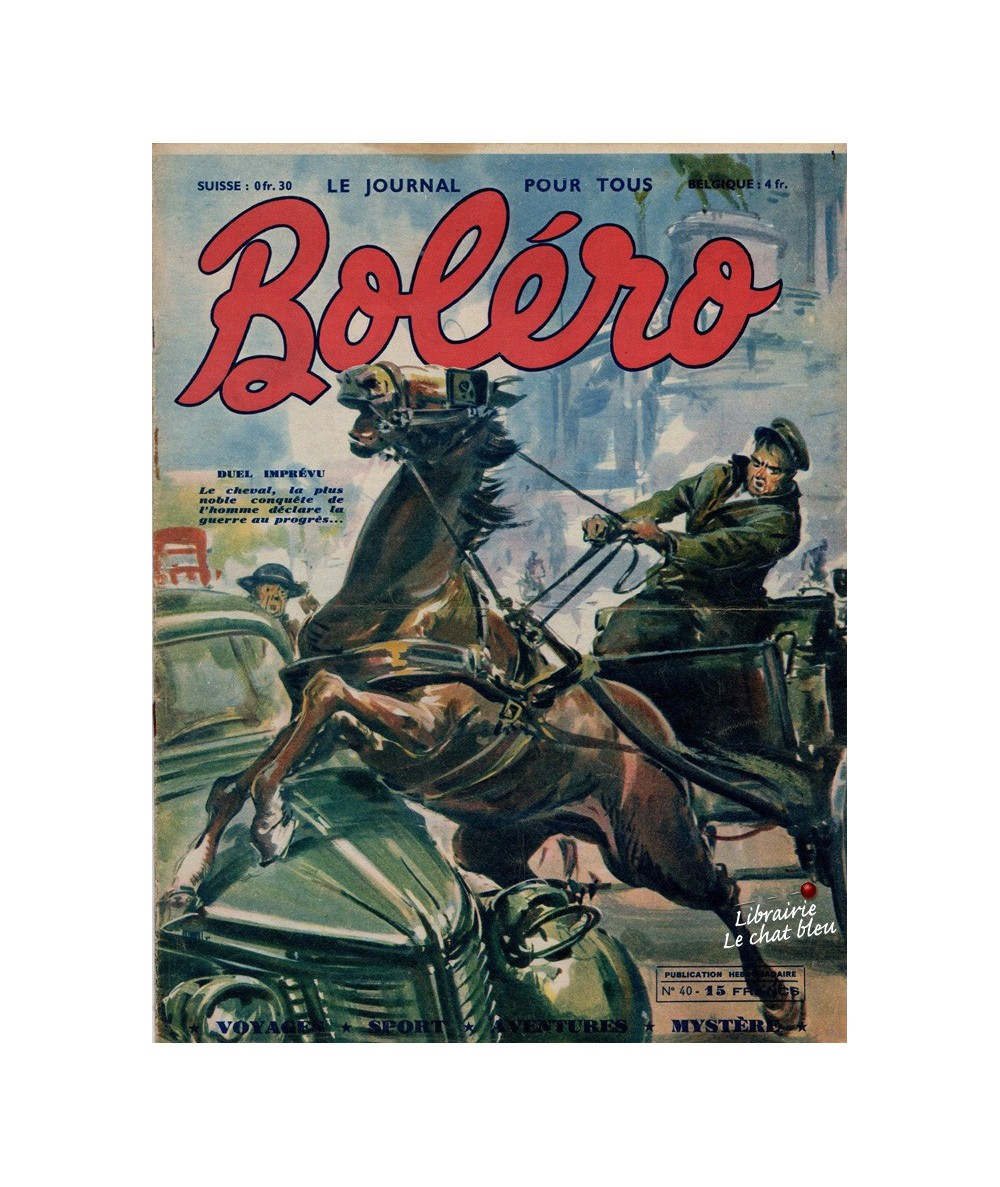 Boléro N° 40 paru en 1951 - Duel imprévu