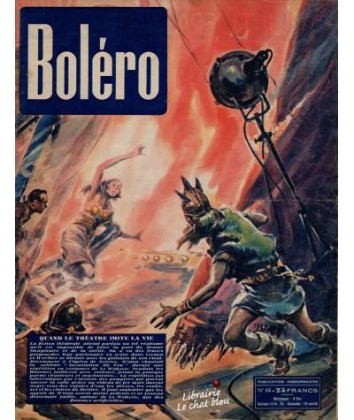 Revue Boléro N° 64 paru en 1951 - Quand le théâtre imite la vie