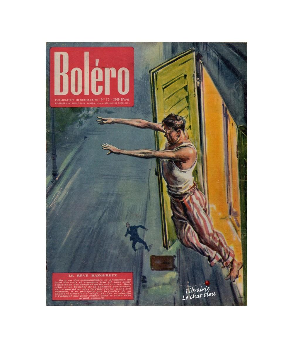 Boléro N° 73 paru en 1951 - Le rêve dangereux