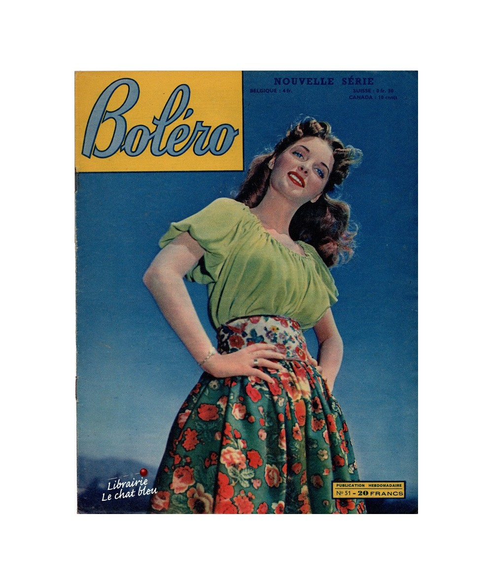 Boléro N° 51 paru en 1951