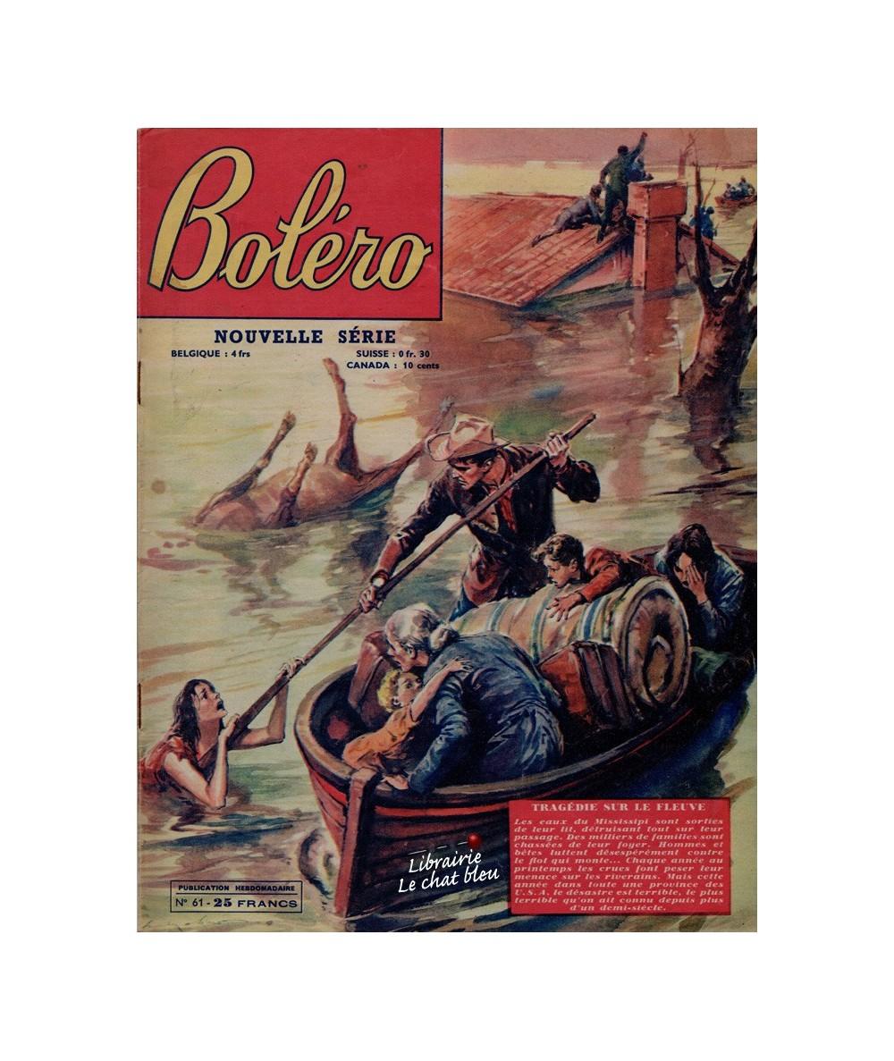 Boléro N° 61 paru en 1951 - Tragédie sur le fleuve