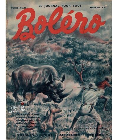 Revue Boléro N° 27 paru en 1950