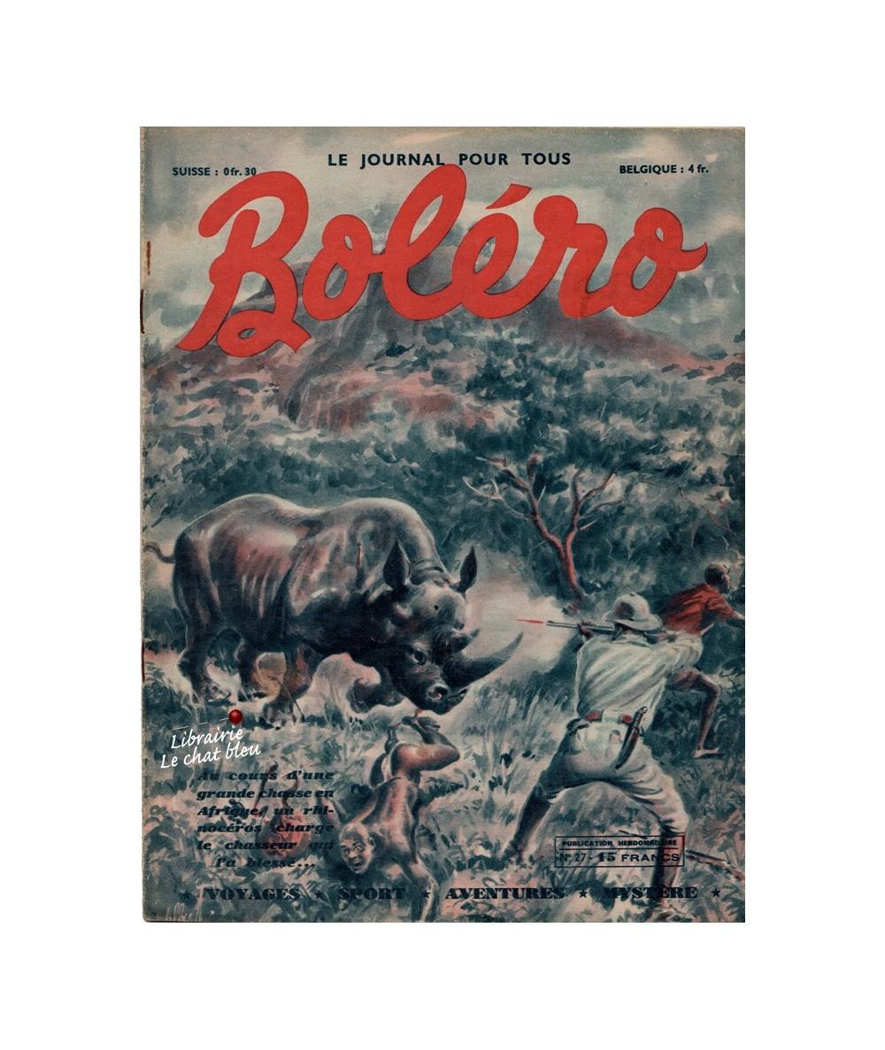 Boléro N° 27 paru en 1950