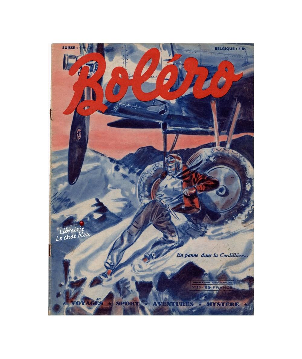 Boléro N° 10 paru en 1950 - En panne dans la Cordillière…
