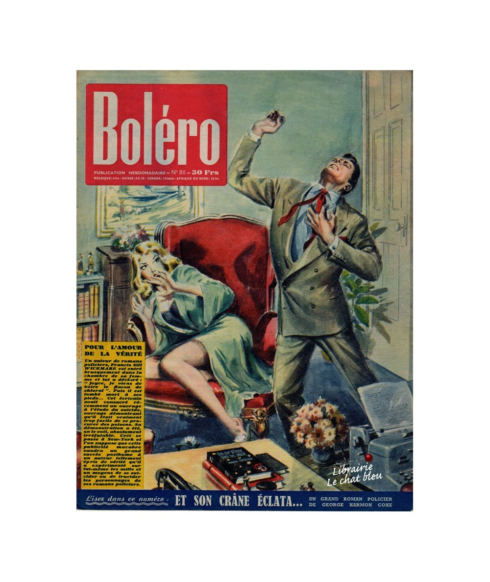 Boléro N° 80 paru en 1951 - Pour l'amour de la vérité