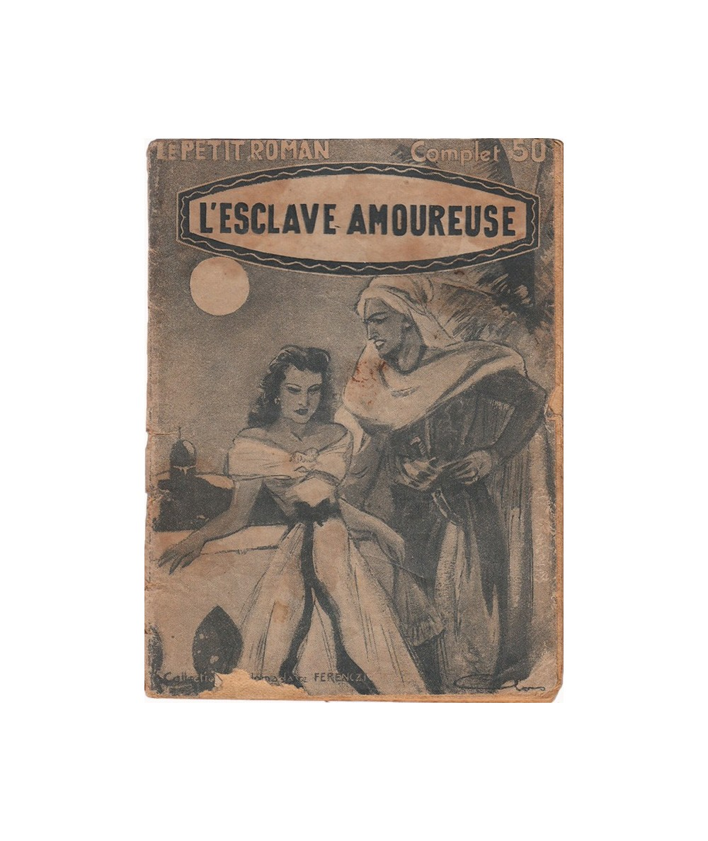 N° 847 - L'esclave amoureuse par Willie Cobb - Roman d'amour