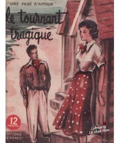 Le tournant tragique (Claude Sarville) - Une page d'amour N° 44