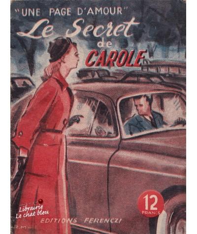 Le secret de Carole (Pamela) - Une page d'amour N° 33