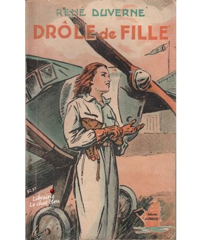"""Drôle de fille (René Duverne) - Collection """"La Frégate"""" N° 38"""