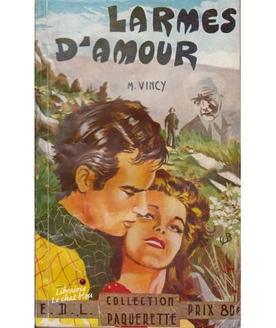 Larmes d'amour (M. Vincy) - Collection Pâquerette N° 19