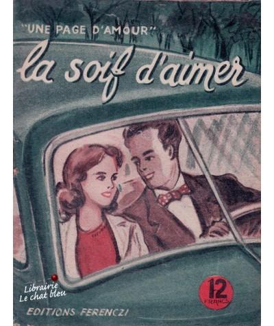 La soif d'aimer (Claude Sarville) - Une page d'amour N° 56