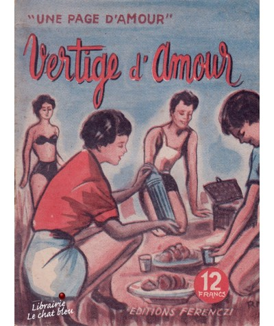 Vertige d'amour (Line Deberre) - Une page d'amour N° 63