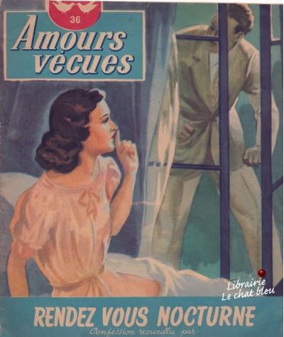 Rendez-vous nocturne (Paul Darcy) - Amours vécues N° 36