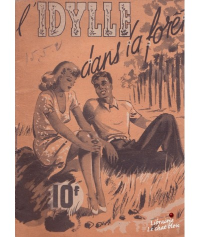 L'idylle dans la forêt (Jean Bonnery) - As de Coeur N° 21