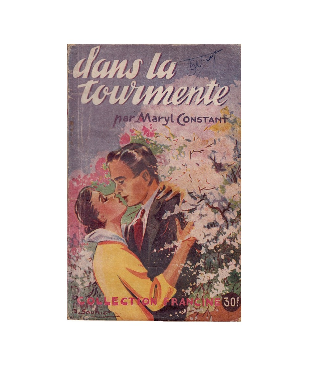 Dans la tourmente (Maryl Constant) - Collection Francine