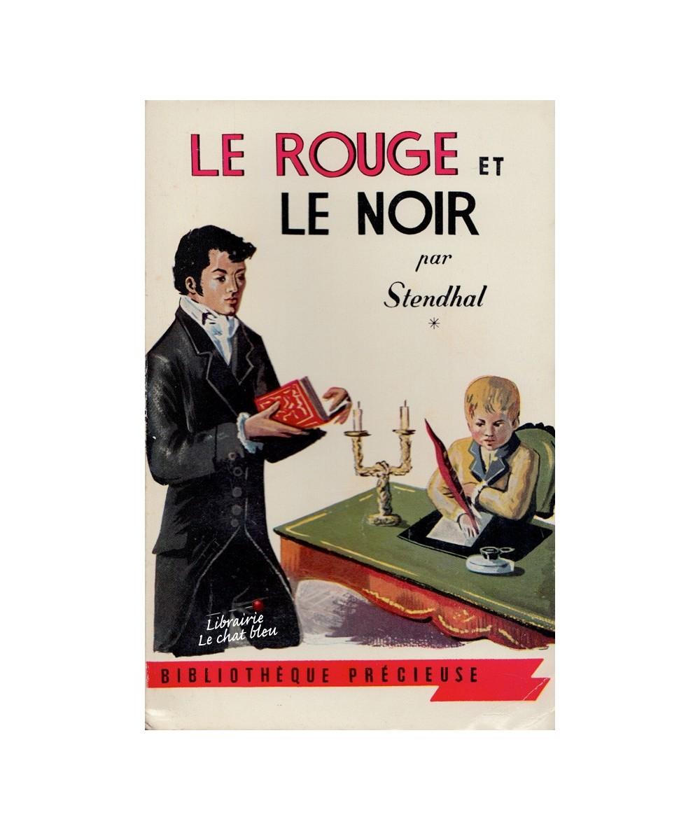 Tome 1 - Le rouge et le noir par Stendhal - Bibliothèque précieuse