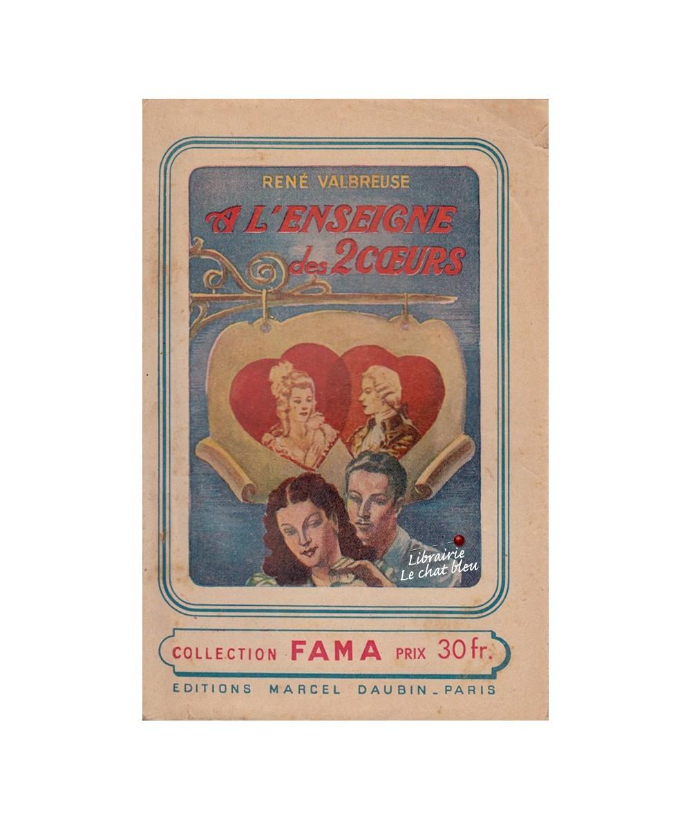 N° 9 - A l'enseigne des deux coeurs (René Valbreuse) - Collection Fama
