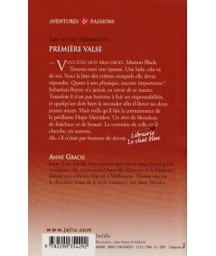 Première valse (Anne Gracie) - Tome 2. Les sœurs Merridew - J'ai lu N° 8160
