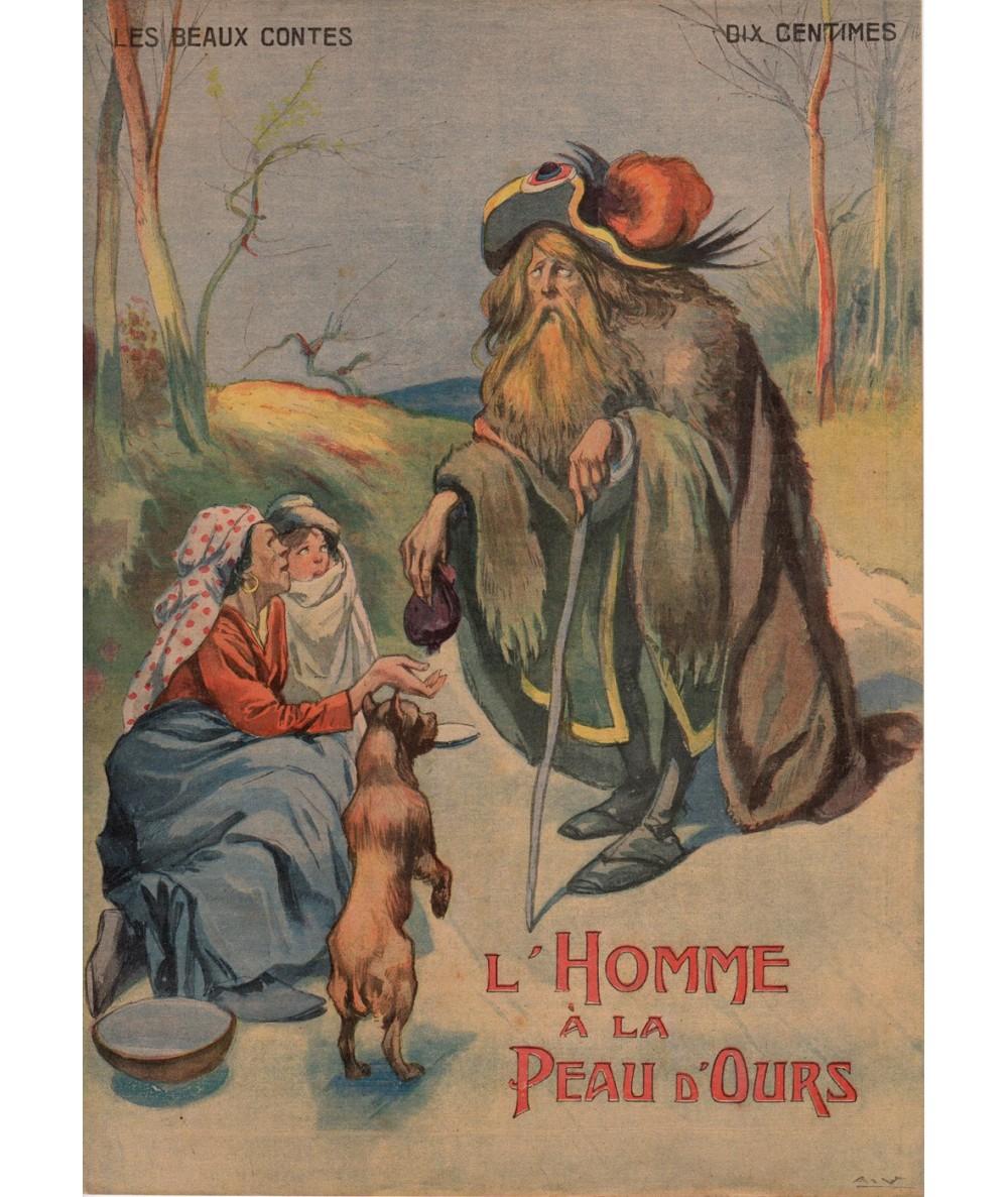 N° 11 - L'Homme à la peau d'Ours - Les beaux contes - Collection Nos Loisirs