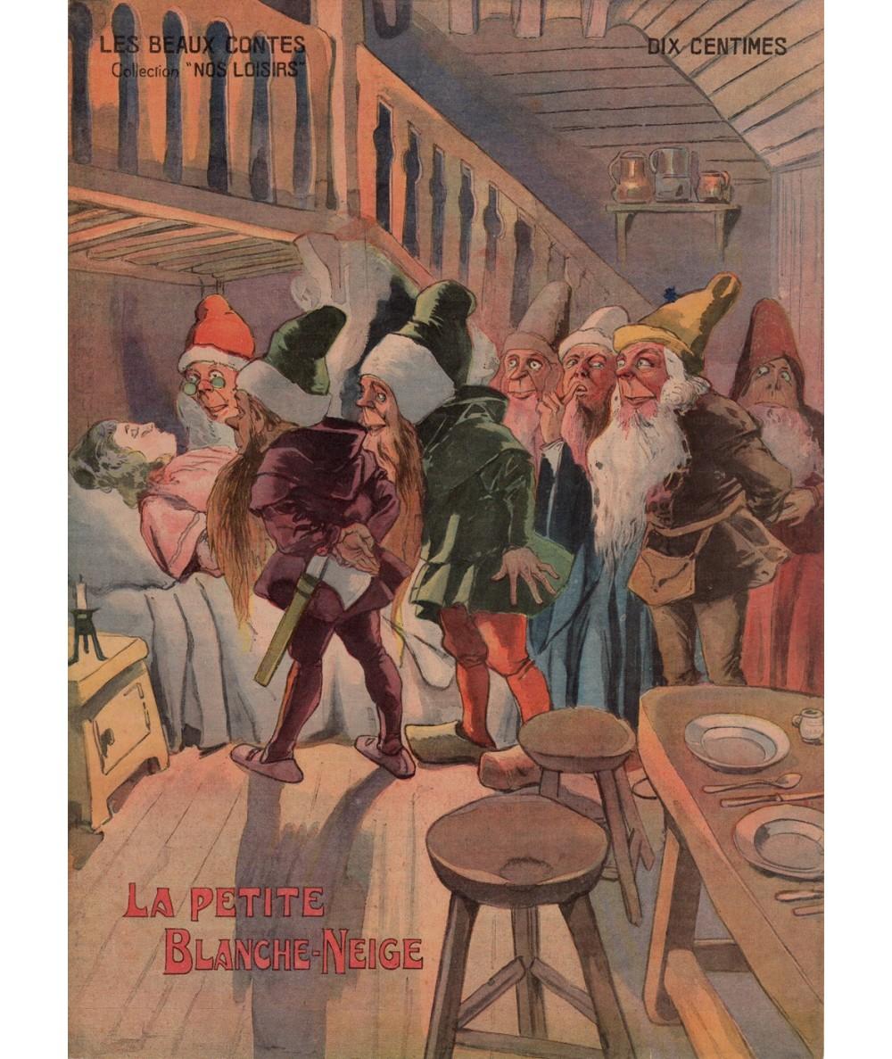 N° 4 - La Petite Blanche-Neige - Les beaux contes - Collection Nos Loisirs