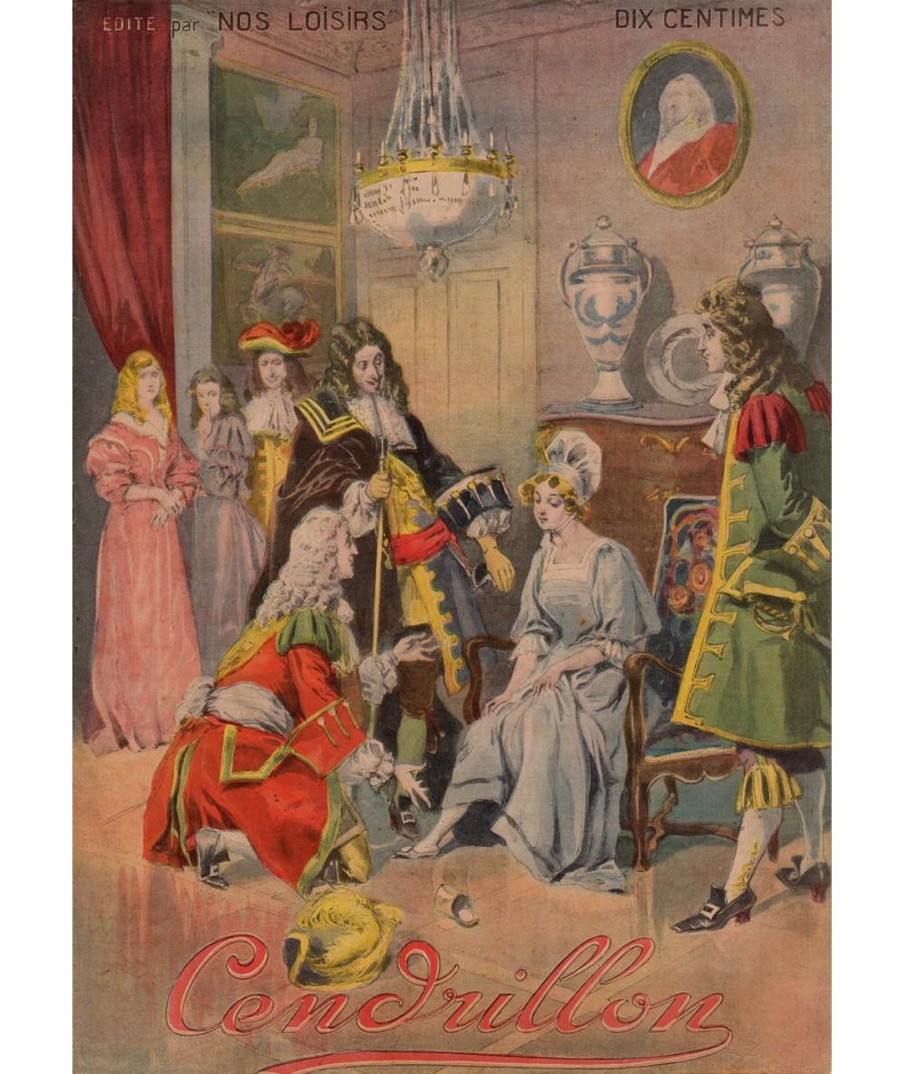 Cendrillon ou la petite pantoufle de verre - Les beaux contes - Collection Nos Loisirs
