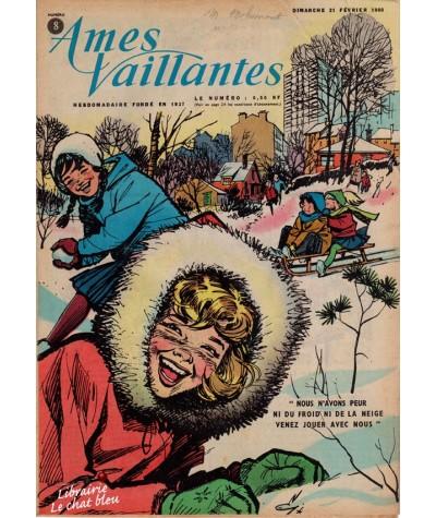 Revue Ames Vaillantes N° 8 paru en 1960