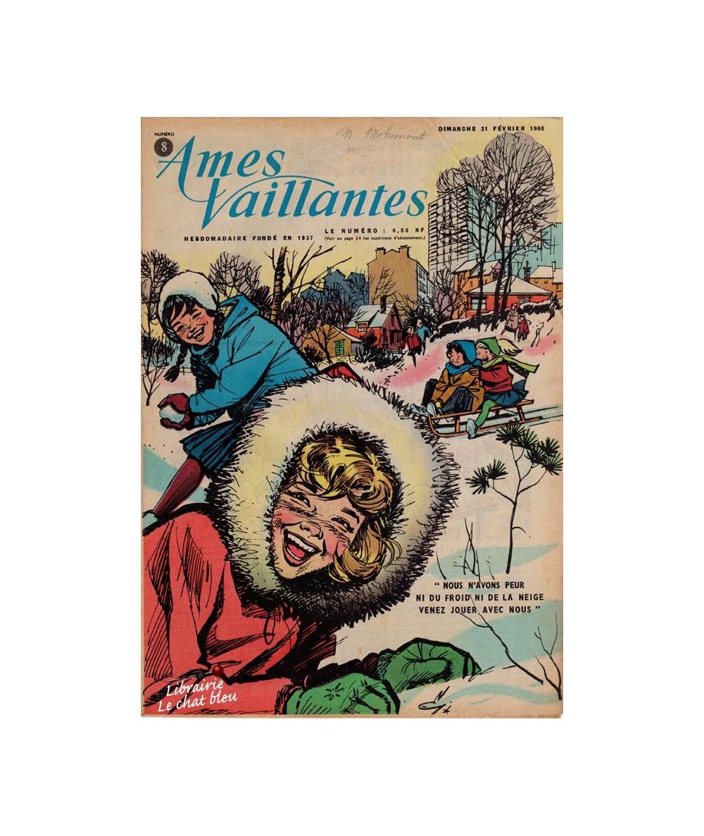 Ames Vaillantes N° 8 paru en 1960