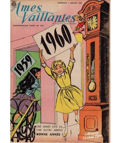 Revue Ames Vaillantes N° 1 paru en 1960