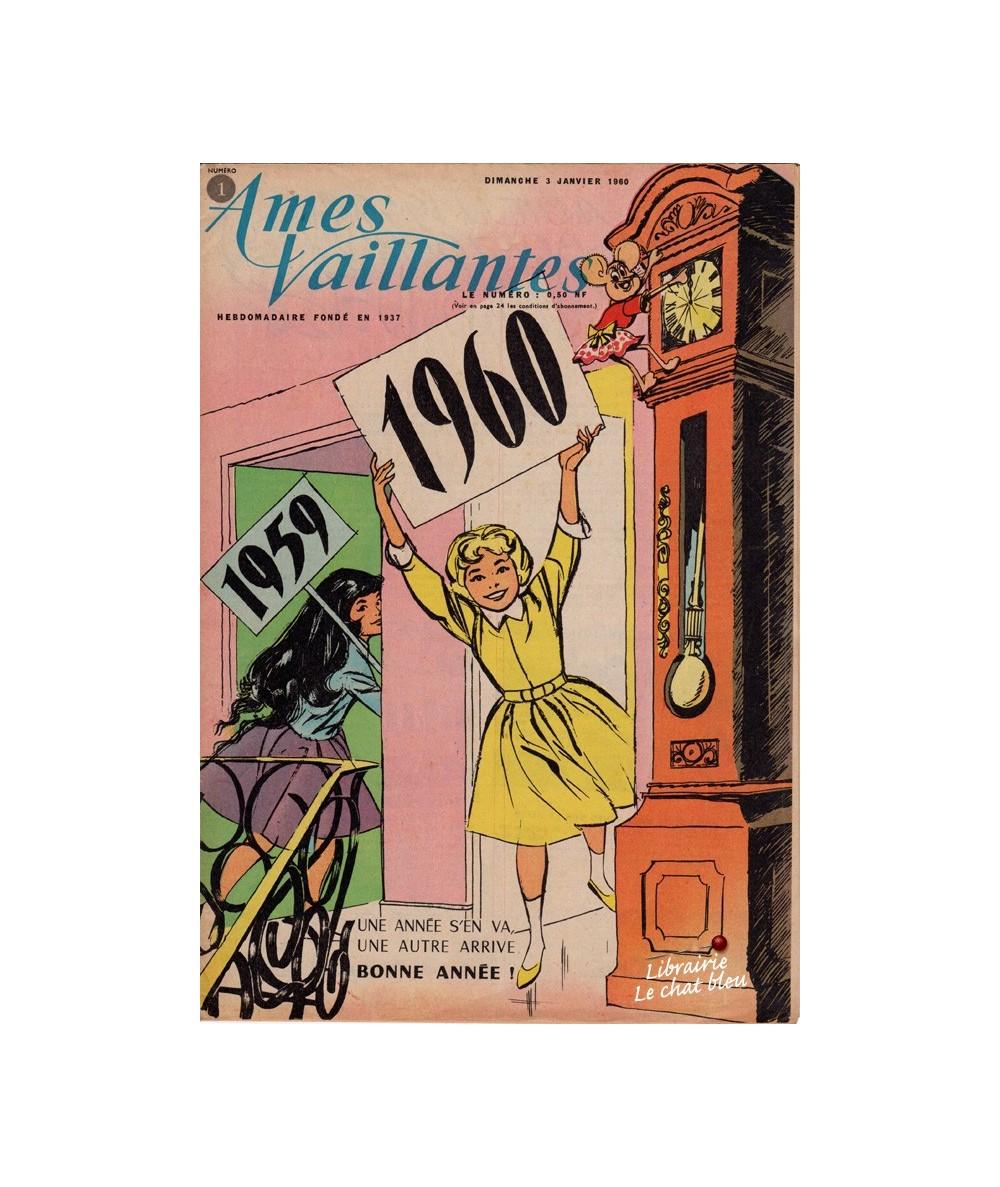 Ames Vaillantes N° 1 paru en 1960
