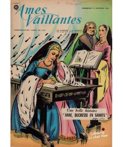 Revue Ames Vaillantes N° 41 paru en 1959