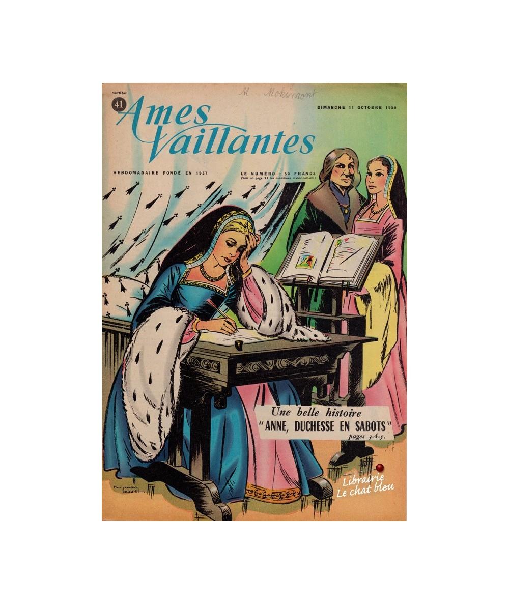Ames Vaillantes N° 41 paru en 1959