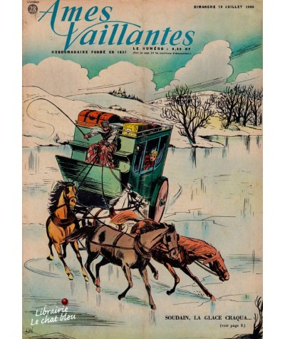 Revue Ames Vaillantes N° 28 paru en 1960