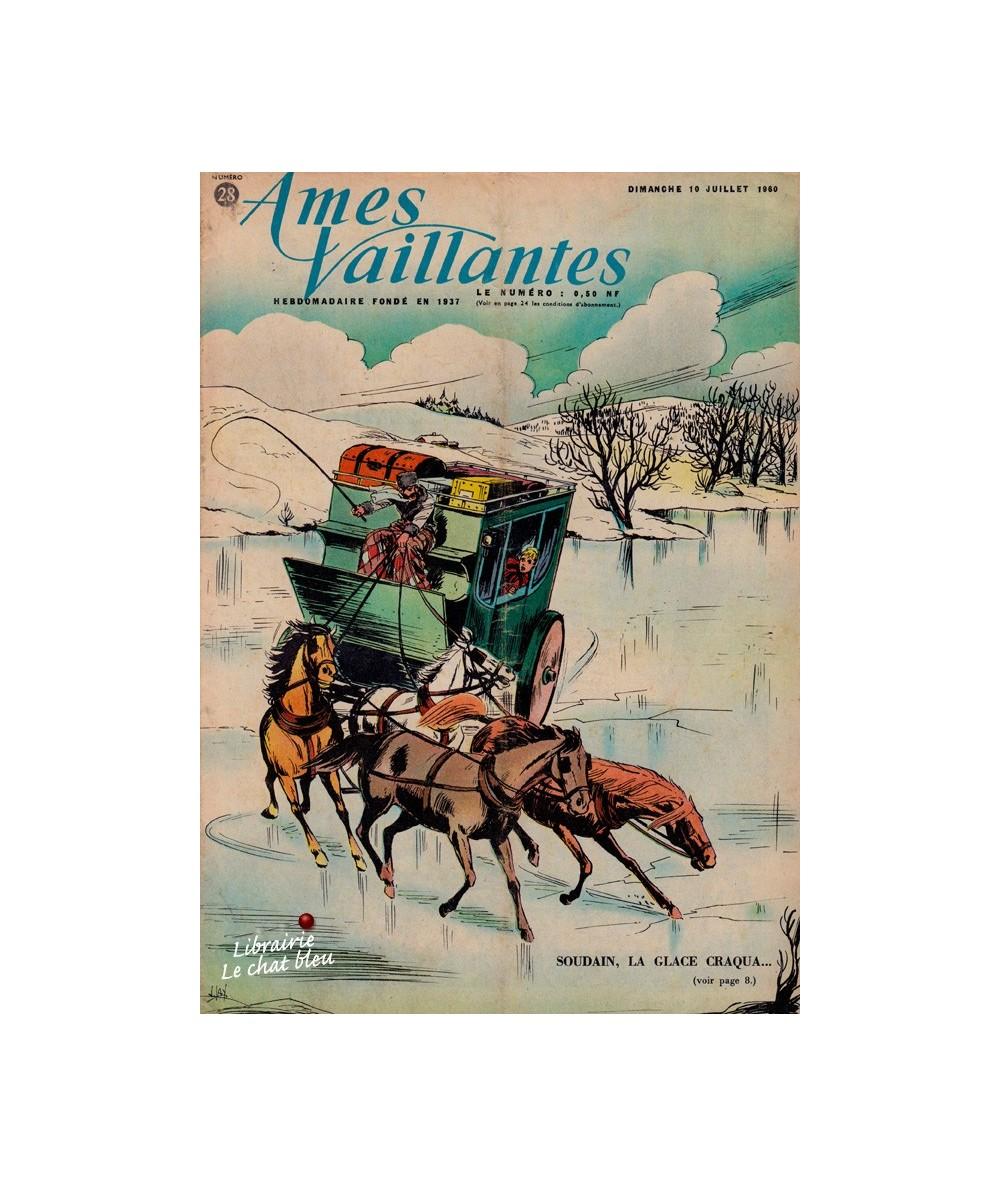 Ames Vaillantes N° 28 paru en 1960