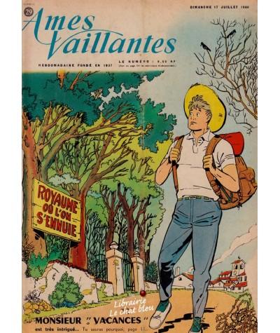 Revue Ames Vaillantes N° 29 paru en 1960