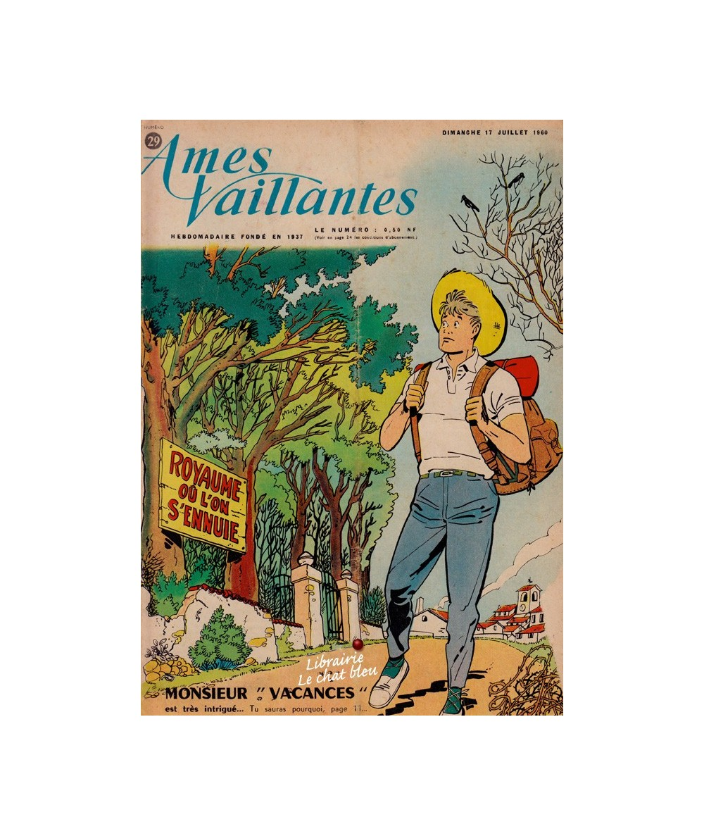 Ames Vaillantes N° 29 paru en 1960