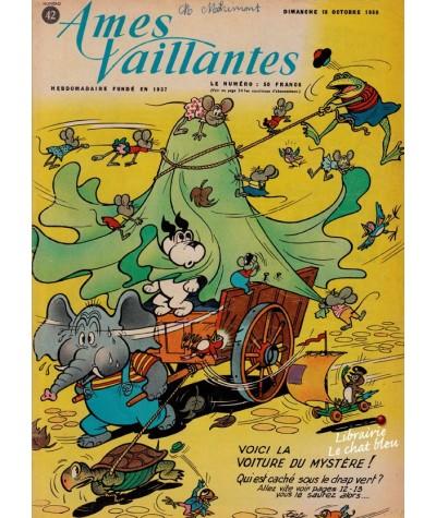 Revue Ames Vaillantes N° 42 paru en 1959