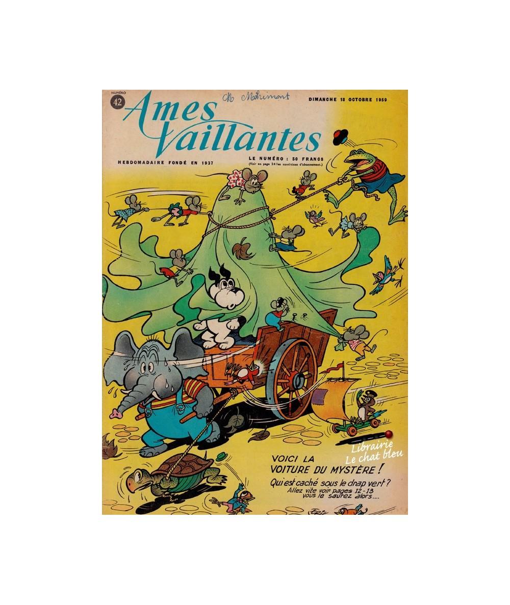 Ames Vaillantes N° 42 paru en 1959