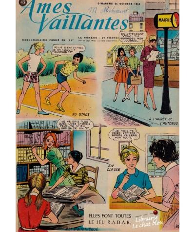 Revue Ames Vaillantes N° 43 paru en 1959