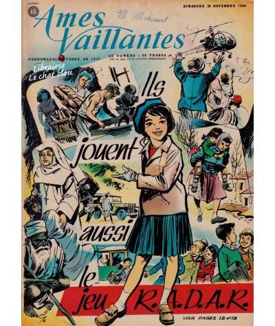 Revue Ames Vaillantes N° 48 paru en 1959