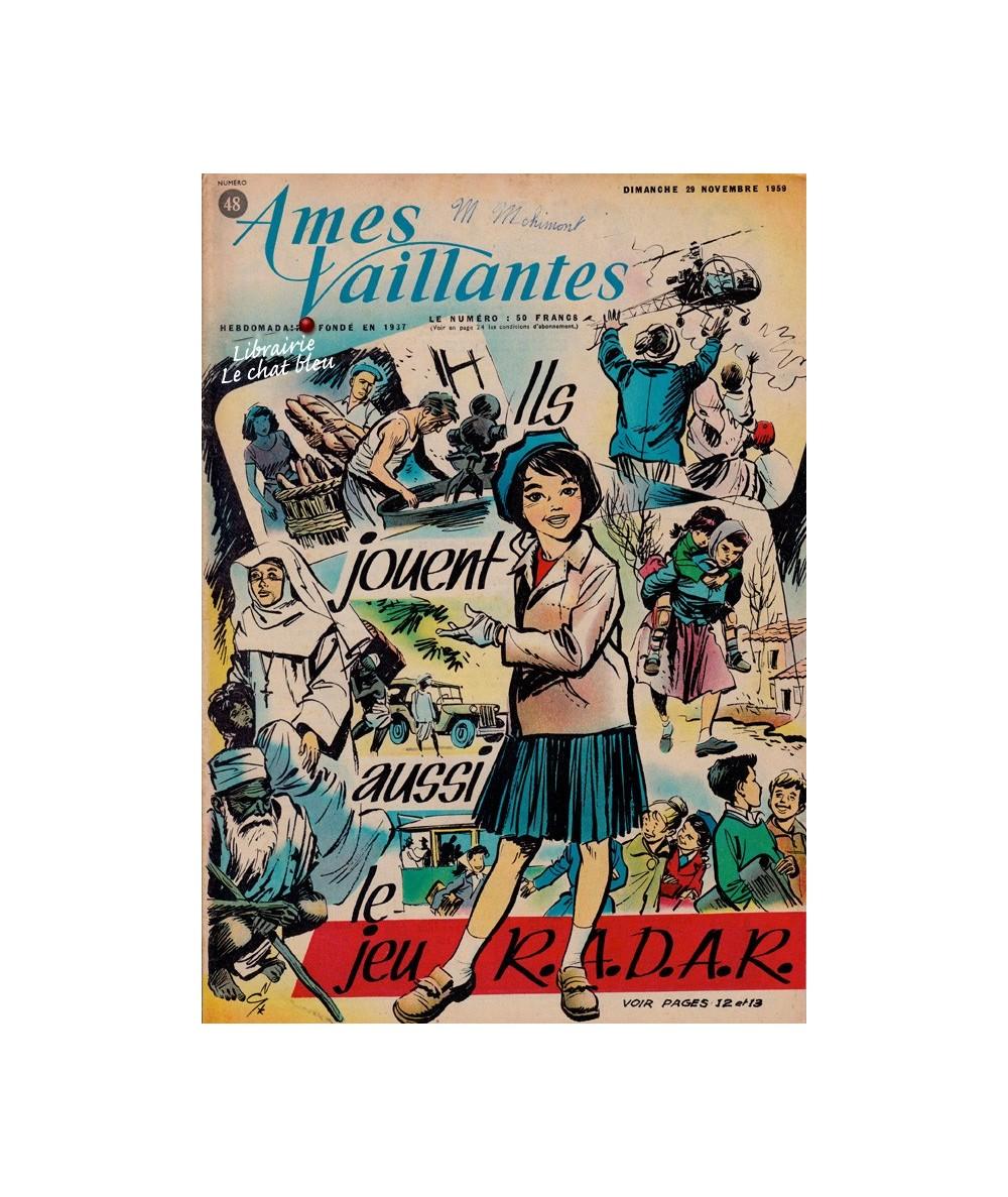 Ames Vaillantes N° 48 paru en 1959