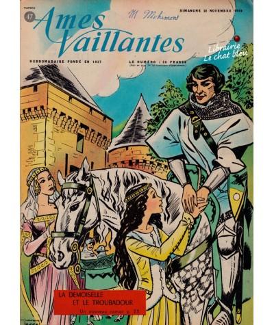Revue Ames Vaillantes N° 47 paru en 1959
