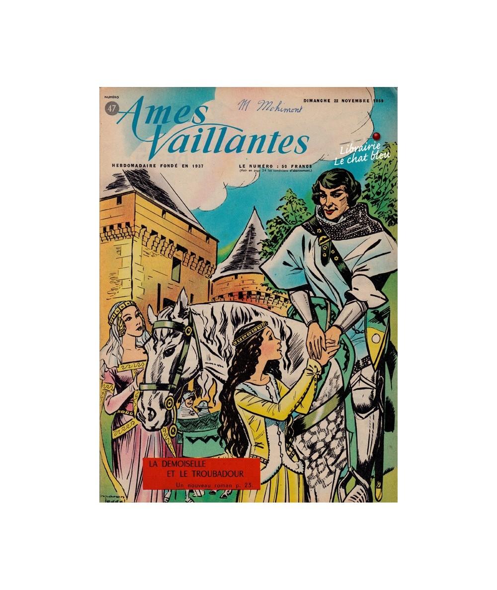 Ames Vaillantes N° 47 paru en 1959