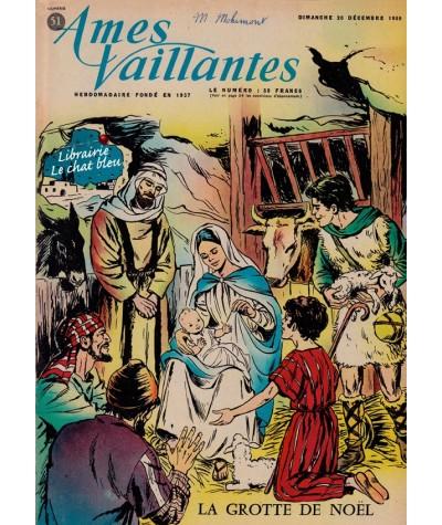 Revue Ames Vaillantes N° 51 paru en 1959
