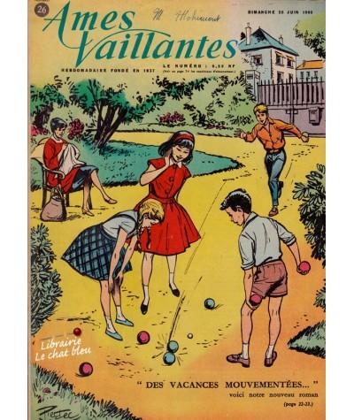 Revue Ames Vaillantes N° 26 paru en 1960