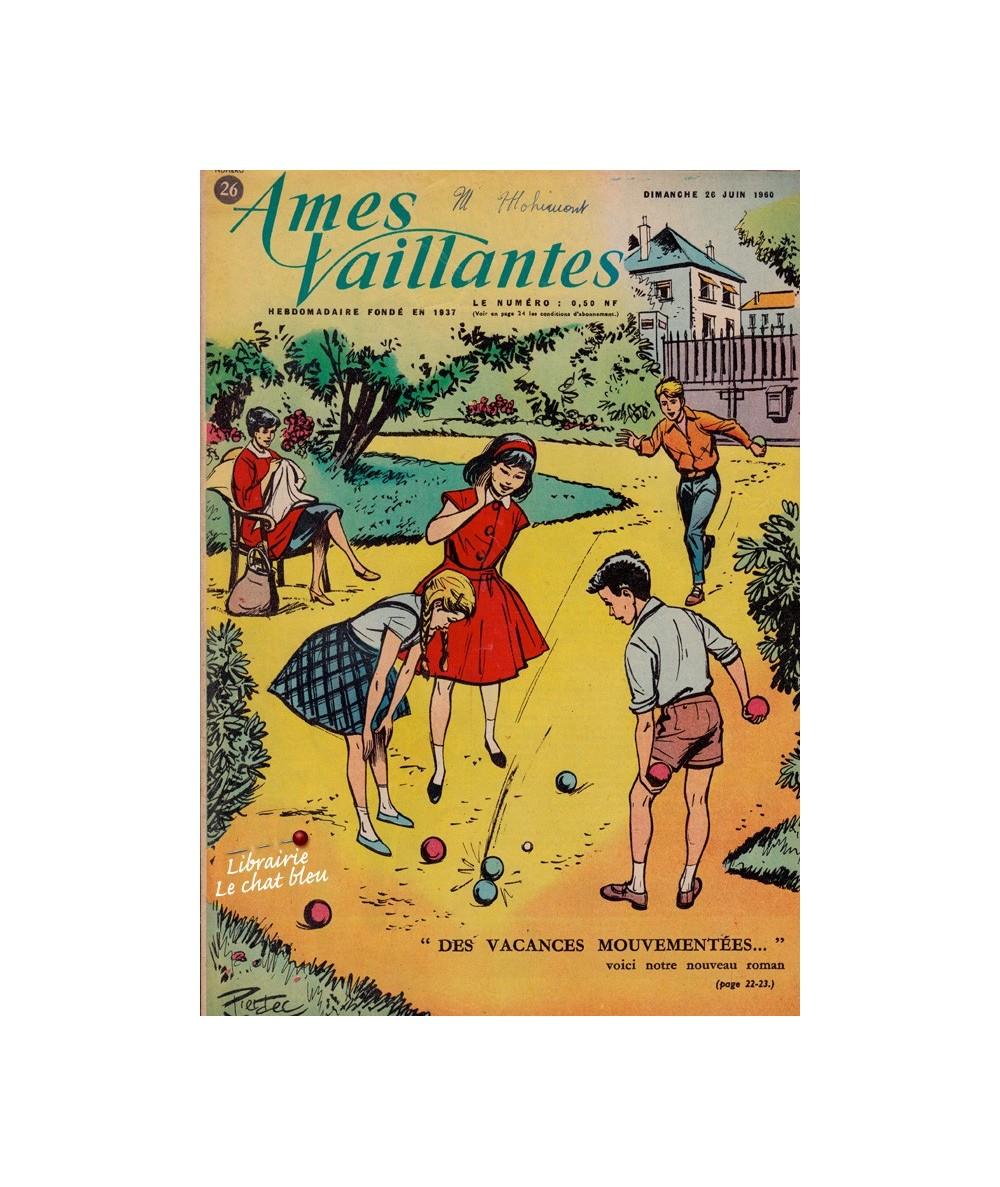 Ames Vaillantes N° 26 paru en 1960