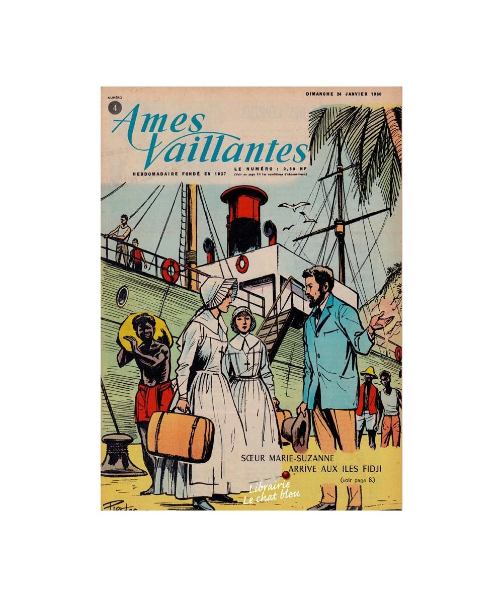 Ames Vaillantes N° 4 paru en 1960